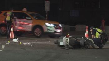 21歲警遭無照少年撞 預計明拔管…捐贈器官遺愛人間