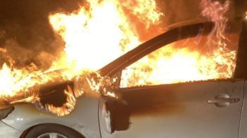 新北三峽路邊傳火燒車!車內驚見1男成焦屍