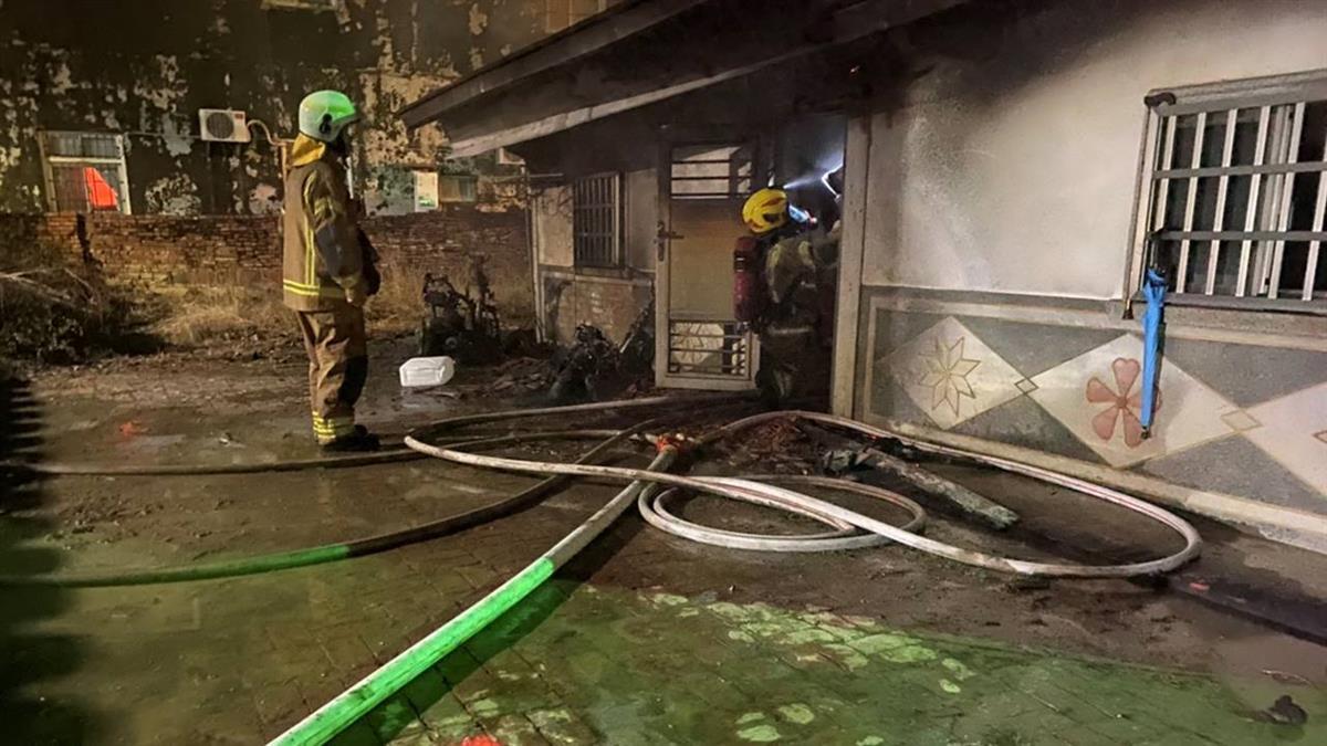 台南男涉縱火害阿公灼傷送醫  法院裁定收押