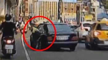 獨 / 撞警又一樁!怕通緝被揭穿 北市嫌開車撞女警還拖行
