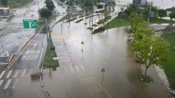 韓國暴雨逾千人受災 政府擬列特別災區救災防疫