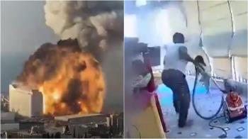 黎巴嫩大爆炸!幫傭秒抱女童逃生 網友超感動