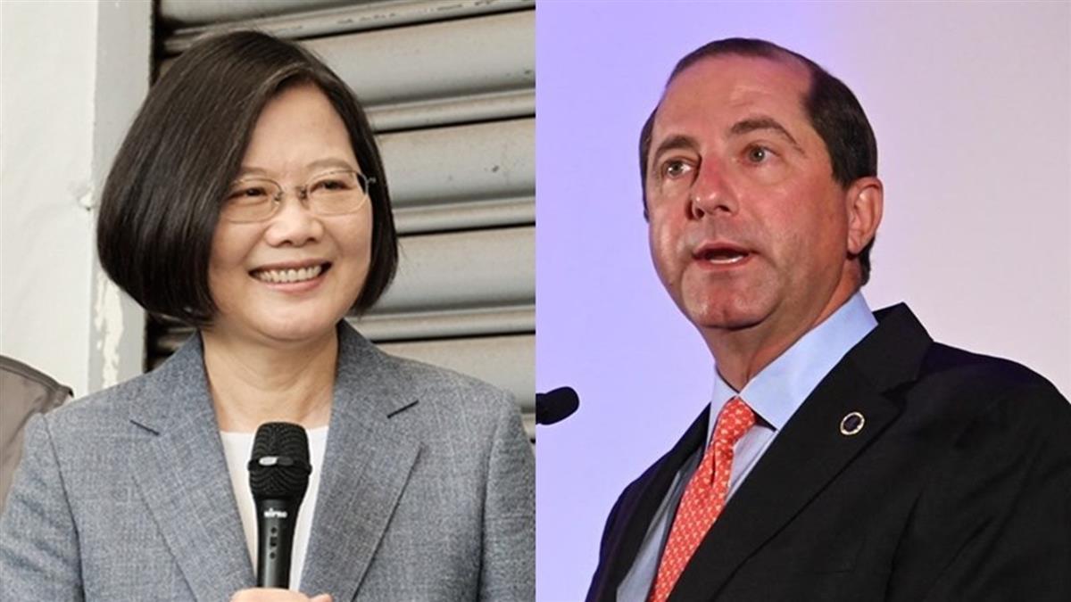 美衛生部長讚台防疫有成:期待見「台灣總統」