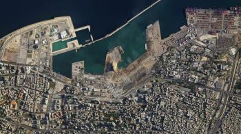 30萬人無家可歸!黎巴嫩爆炸前後衛星對比照曝光