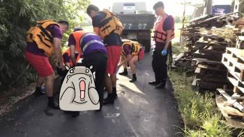 快訊/桃園驚見浮屍!17歲少年倒臥150cm水溝身亡