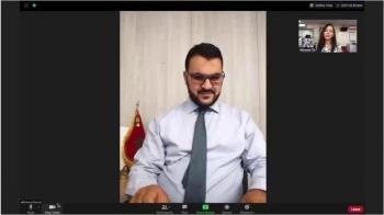 黎巴嫩貝魯特大爆炸:BBC記者在辦公室做錄影訪問捕捉了驚險一幕