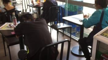 獨 /超商設座位區 喝酒、鬧事增…店員嘆:趕不走