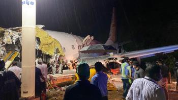 17死173傷!印度武肺撤僑專機滑離跑道 機身斷兩截