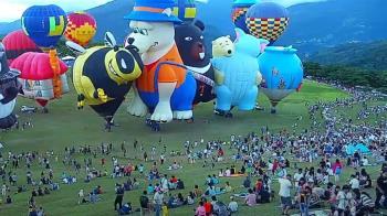 台東熱氣球嘉年華!9千人擠爆現場…不到3成戴口罩