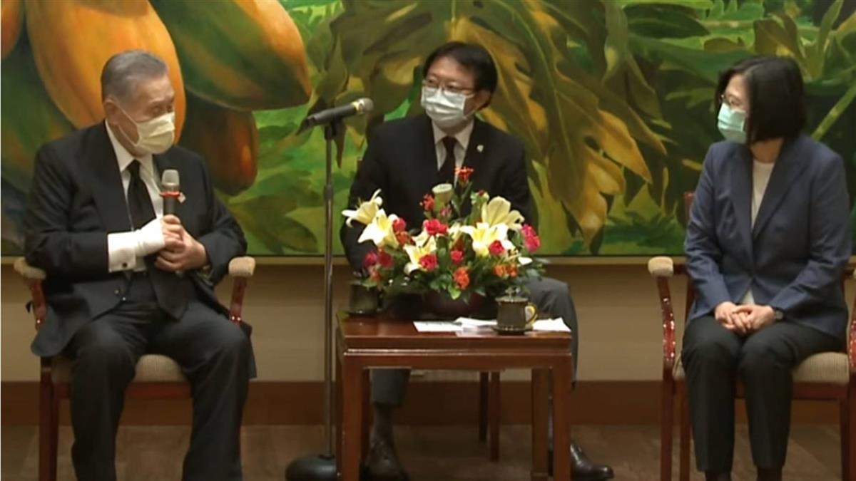 森喜朗率日國會議員團弔唁李登輝 蔡總統接見