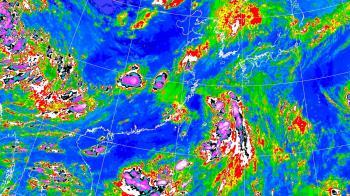 颱風薔蜜生成!這天起豪大雨連炸3天 一圖秒懂全台降雨熱區