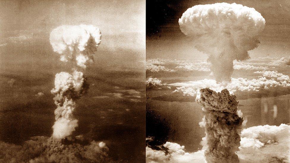 日本廣島和長崎 老照片紀念原子彈爆炸75週年
