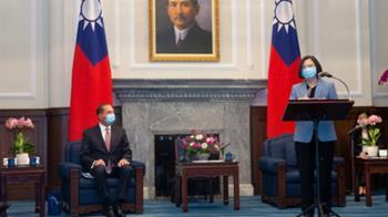 蔡總統接見阿薩爾  感謝川普支持台灣國際參與