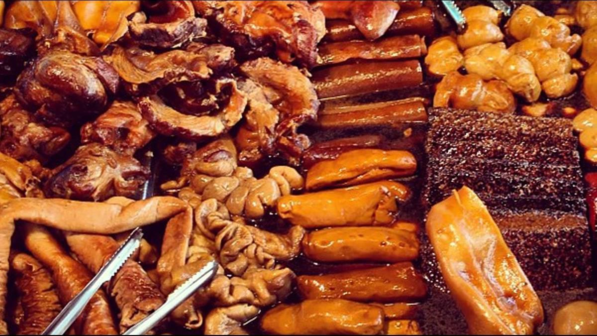 台中麵館「六樣滷味」竟要價570元 ! 網傻眼:論兩的你怎敢吃