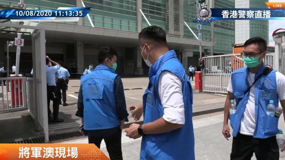 數百警搜香港壹傳媒總部 港警不排除逮更多人