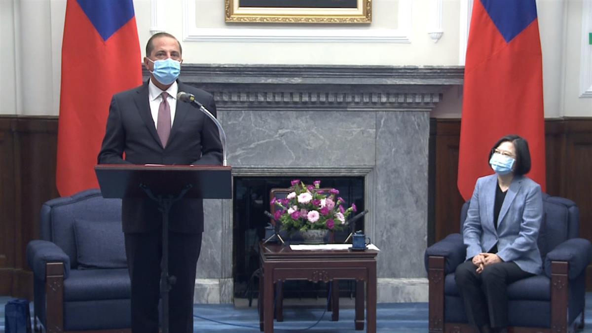 美衛生部長口誤習總統?府方曝講稿反擊了