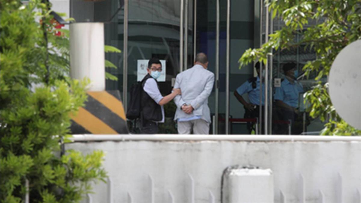 黎智英遭港警逮捕 民進黨:強烈譴責抗議