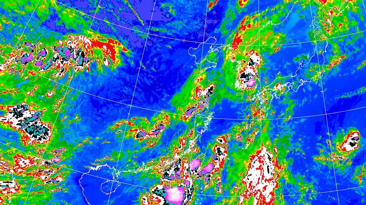 輕颱米克拉發威!雨區增大 18縣市豪、大雨特報