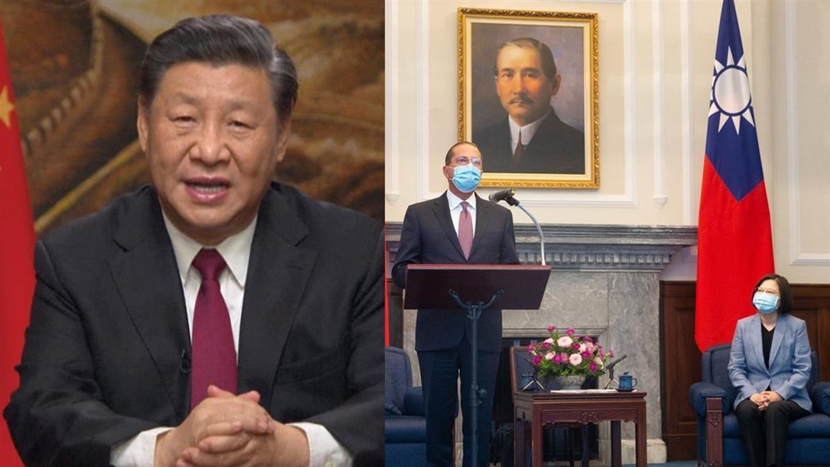 大陸氣炸!美國衛生部長晉見蔡總統 說重話開嗆了