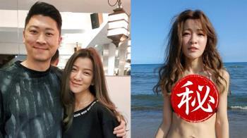 侯昌明嗆身材不會更好 曾雅蘭PO「國際胸」反擊