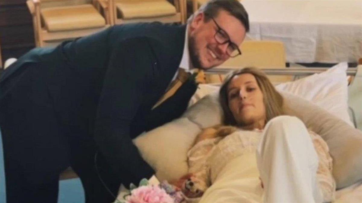 女友身患絶症後,他們在醫院舉辦了婚禮