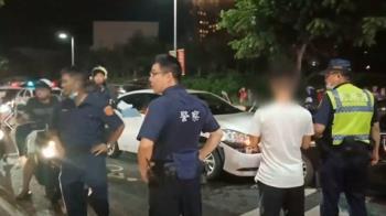 轎車保齡球式撞9車 1孕婦慘遭波及