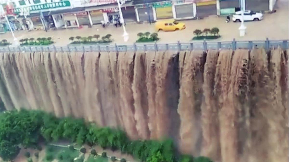 三峽大壩慘了?最強降雨山洪暴發 氣象局急發重大警訊