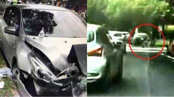 客車衝人行道!7旬翁輪椅推妻遭撞飛2死傷 駕駛辯:沒看見