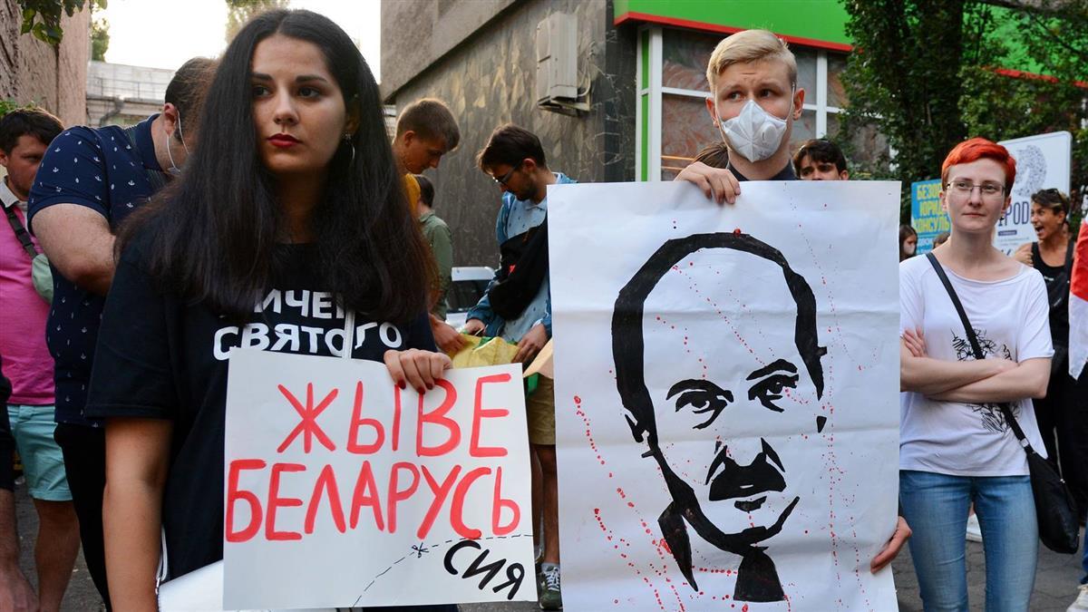 白俄羅斯因大選連3夜動亂 警方共拘留6000多人