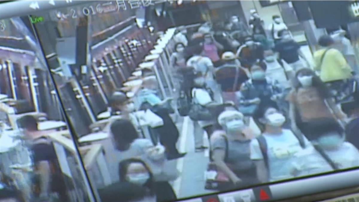 獨/專挑擠捷運 上班族成車廂色狼屢次侵犯女乘客