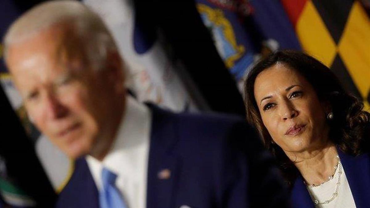 2020美國大選:卡瑪拉·哈里斯,「美國急需要一位領袖」