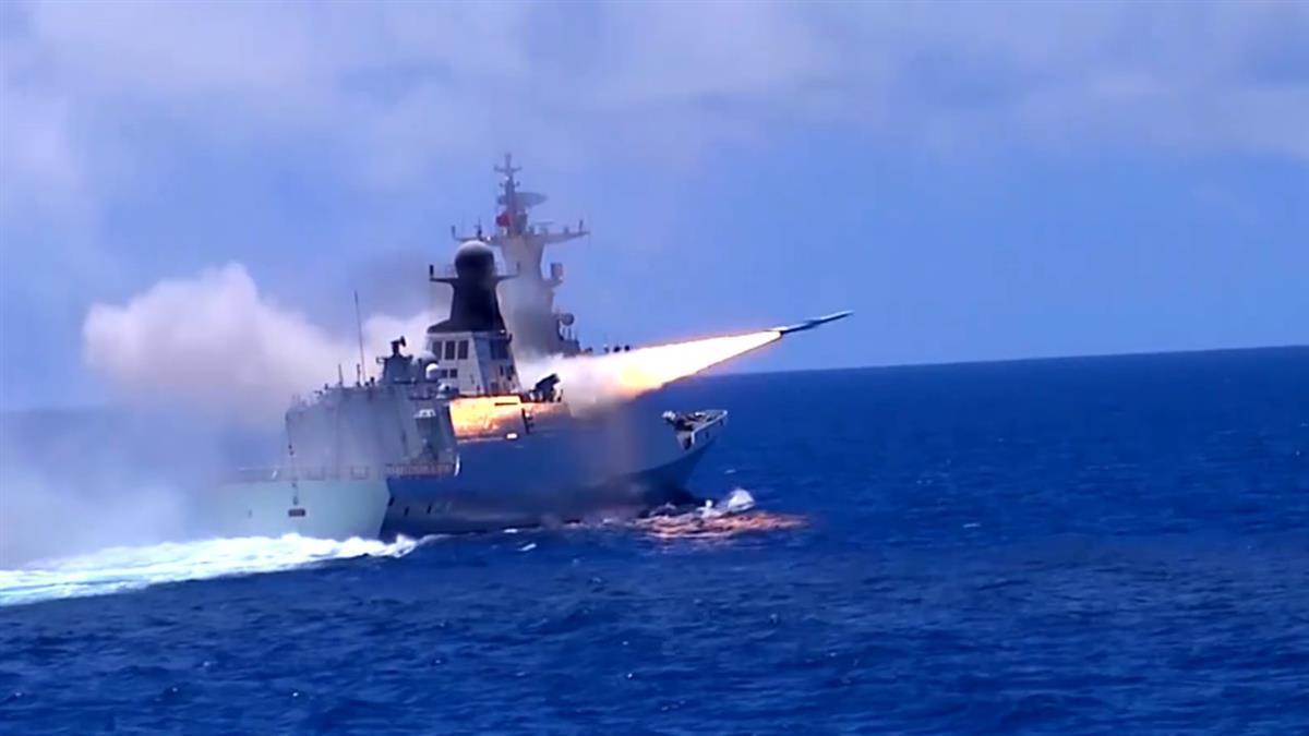 東部戰區台海軍演警告 《環時》總編狂嗆:解放軍幾小時就能奪島