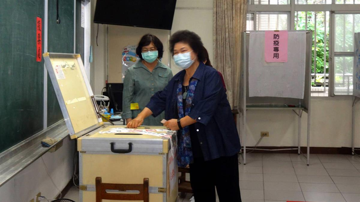 高雄一年投3次票  陳菊:沒有評論