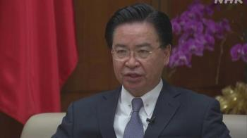吳釗燮接受荷媒專訪 憂台灣成中國下一個目標