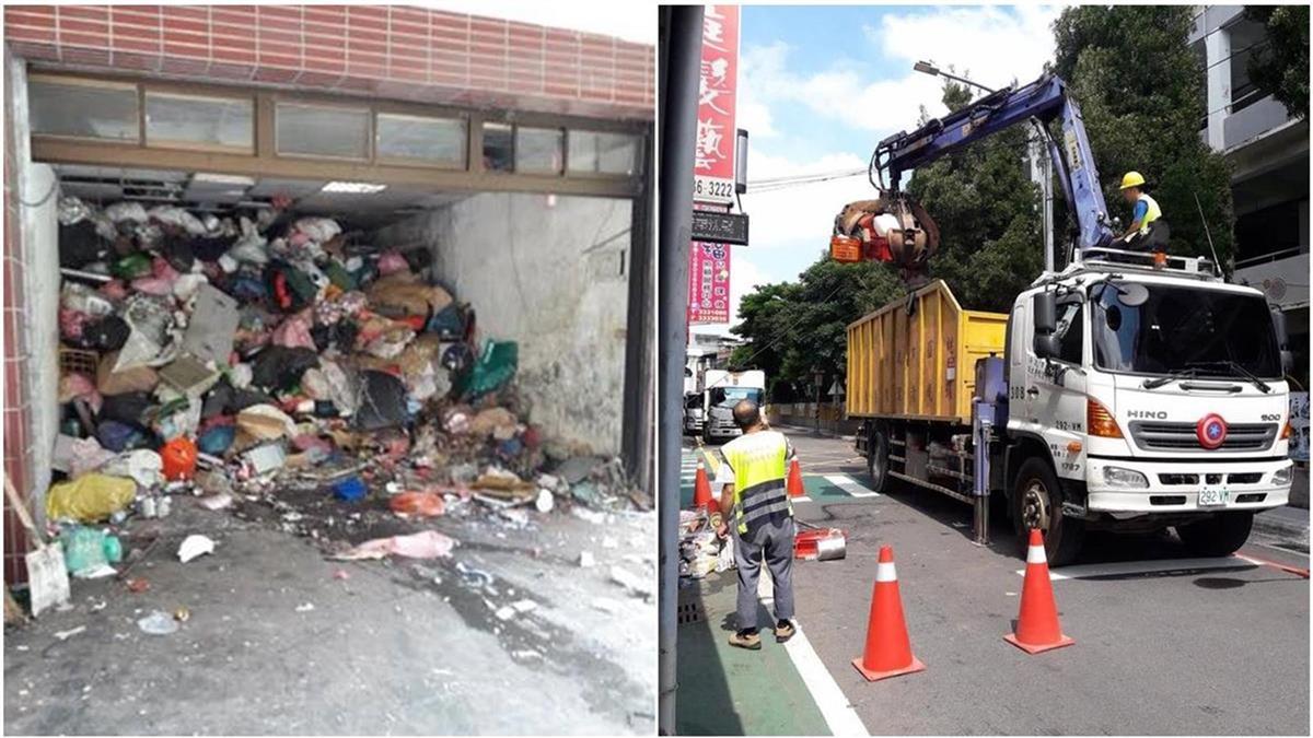 3天清掉30噸垃圾!20年廢棄物堆民宅臭走鄰居