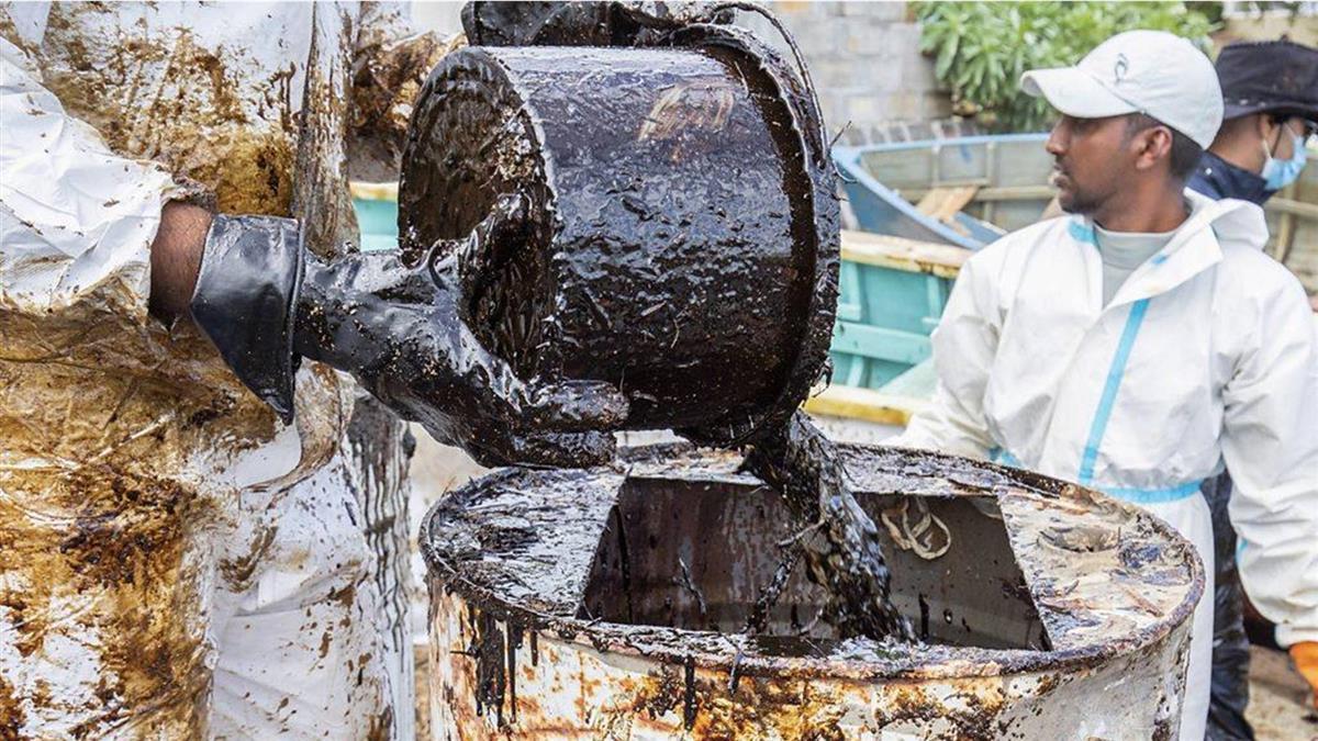 毛裏求斯漏油事故:拯救印度洋上的生態天堂