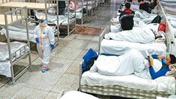 大陸憂疫情復燃 保留武漢4方艙醫院至明年3月