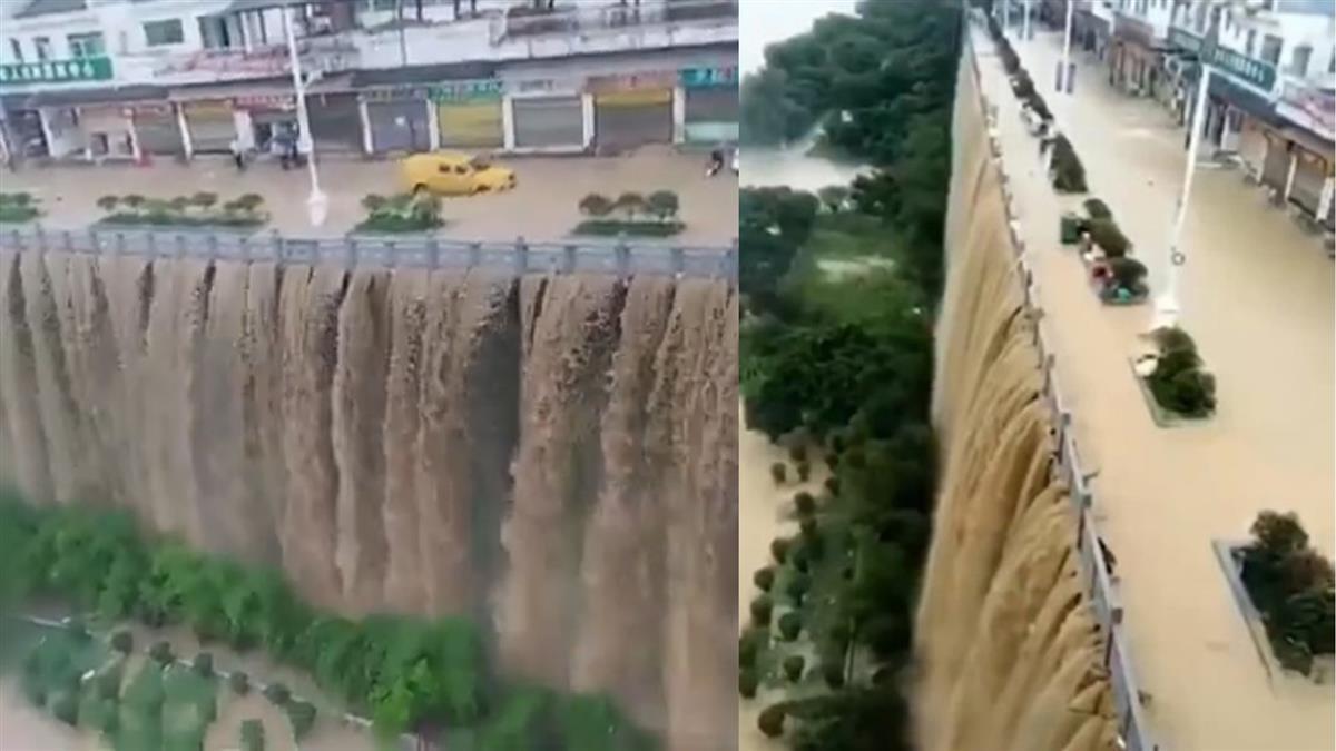三峽大壩上游毀了!5號洪水流量創紀錄 嚴重慘況曝光