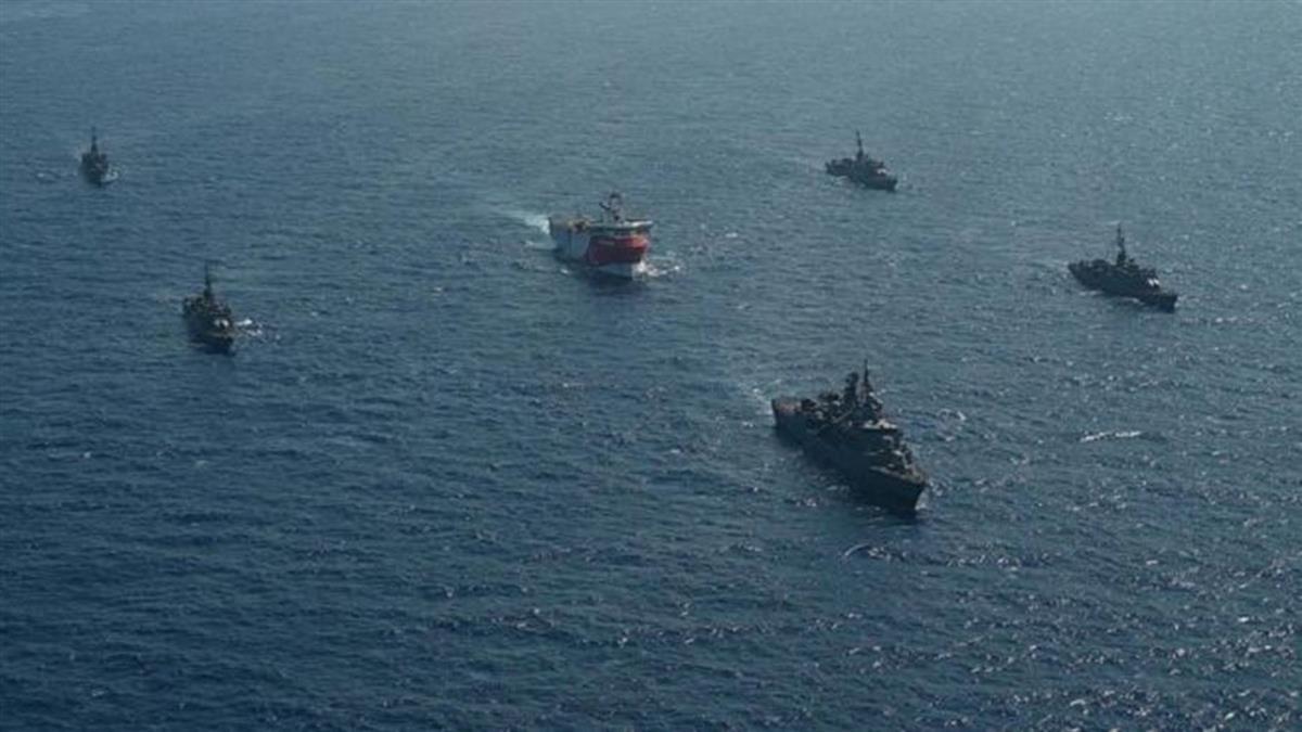 地中海劍拔弩張:土耳其和希臘歐盟對峙加劇軍事衝突風險