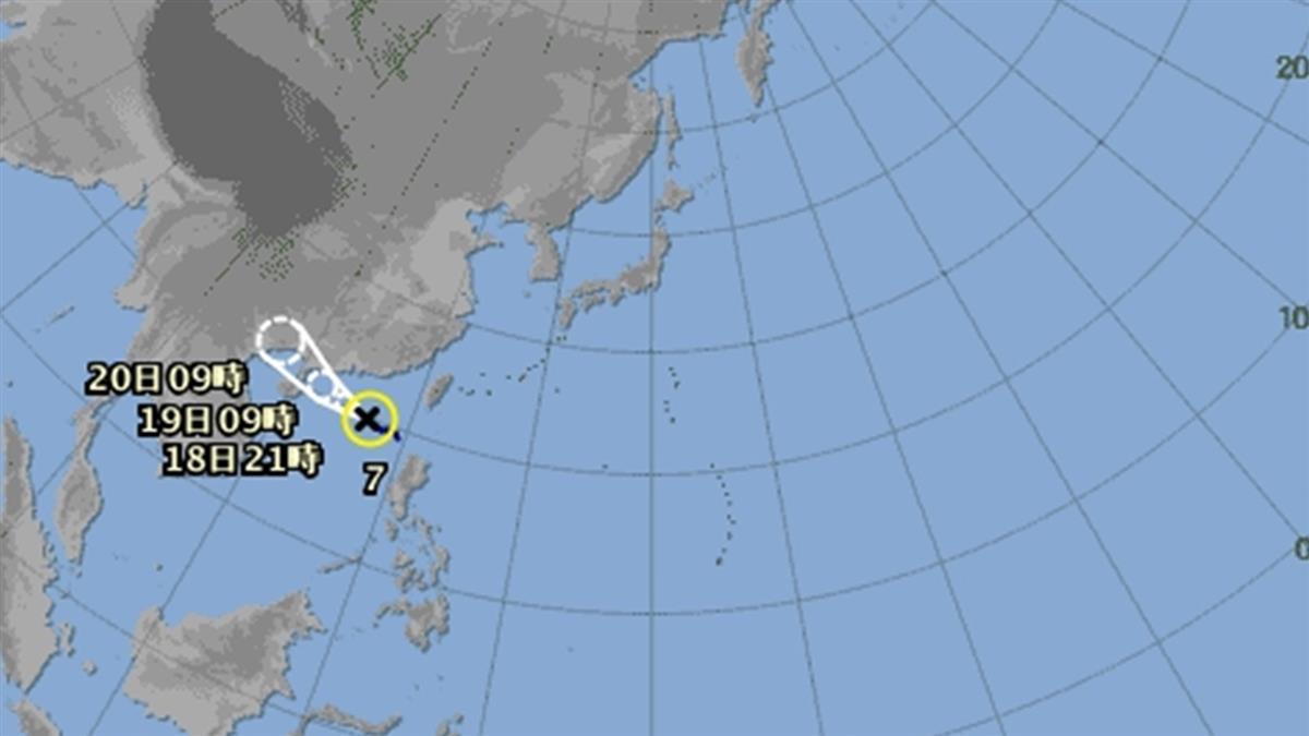 快訊/無花果颱風生成!東、南部嚴防大雨