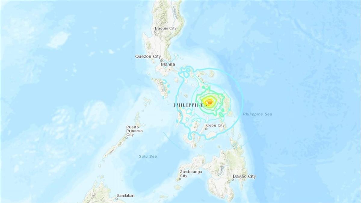 規模6.7淺層地震襲菲律賓 無海嘯警報