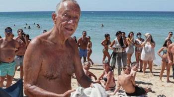 太猛!2女翻船溺水 71歲葡萄牙總統中斷訪問跳海救人