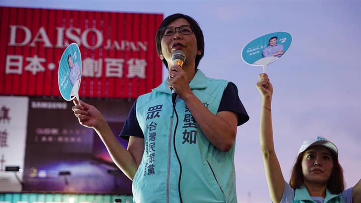 蔡壁如:陳佩琪有親和力 未必稱呼精神領袖