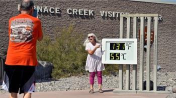 死亡谷測得54.4攝氏度高溫 美國加州名勝或破世界紀錄