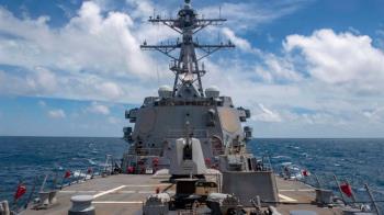 國防部證實 美海軍作戰艦穿越台灣海峽