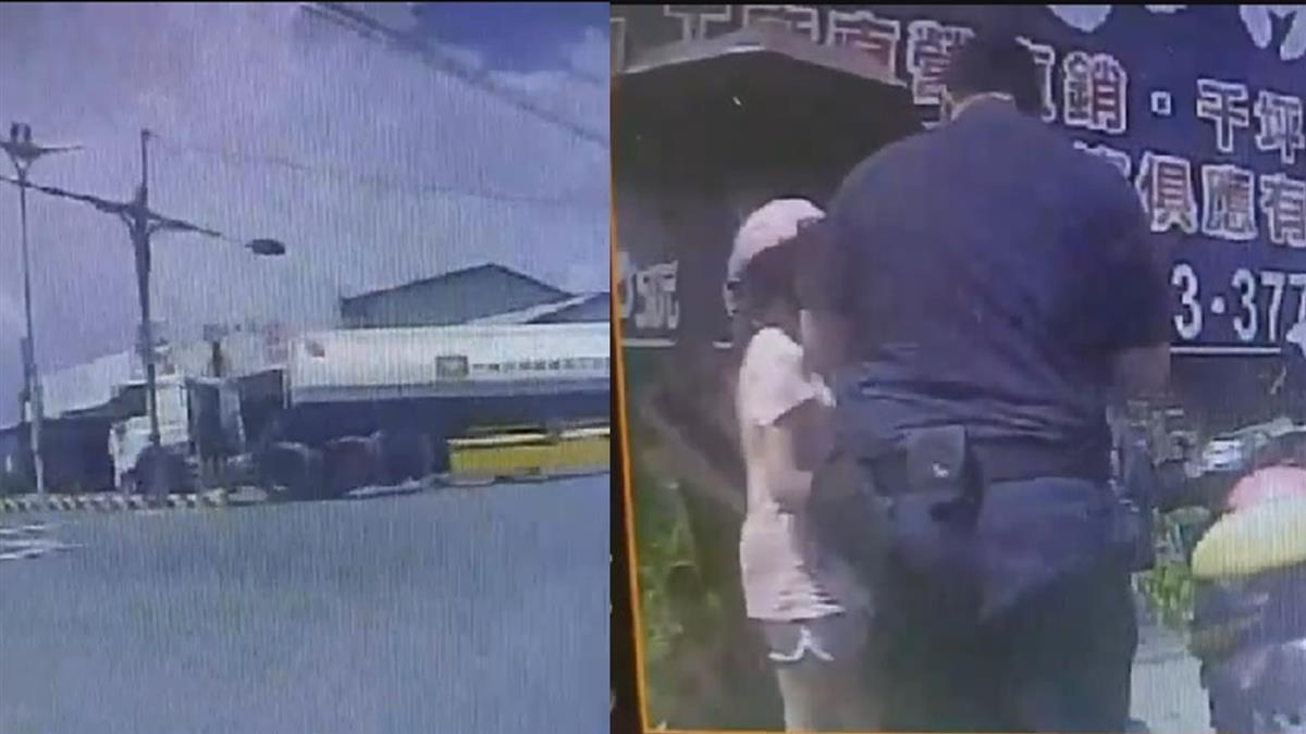 嘉義槽車撞雙載單車!2歲弟捲車底慘死 9歲哥受傷