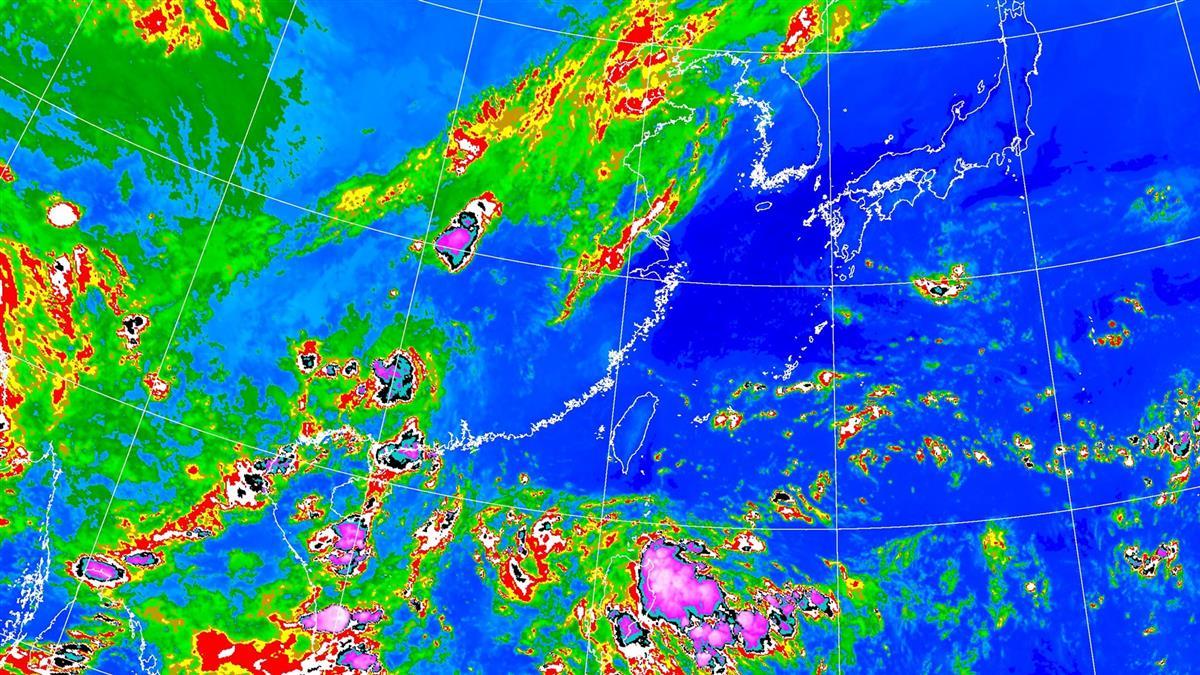 熱帶擾動醞釀成颱!周五變天 午後雷雨區出爐