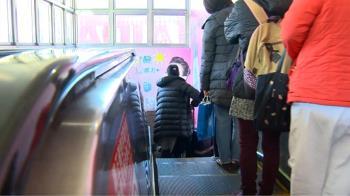 搭北捷電扶梯!台大教授刻意站左邊 慘被羞辱
