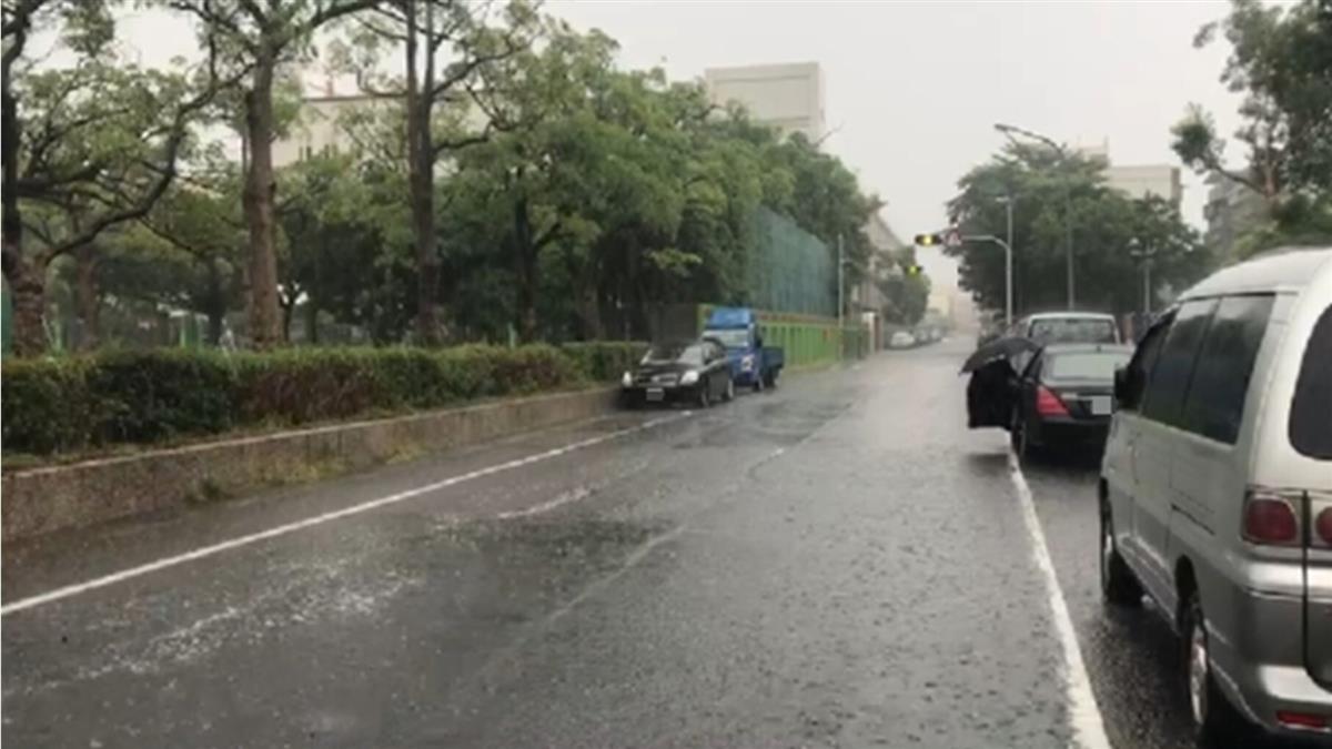 午後雨彈來襲!狂炸11縣市 嚴防雷擊、強陣風