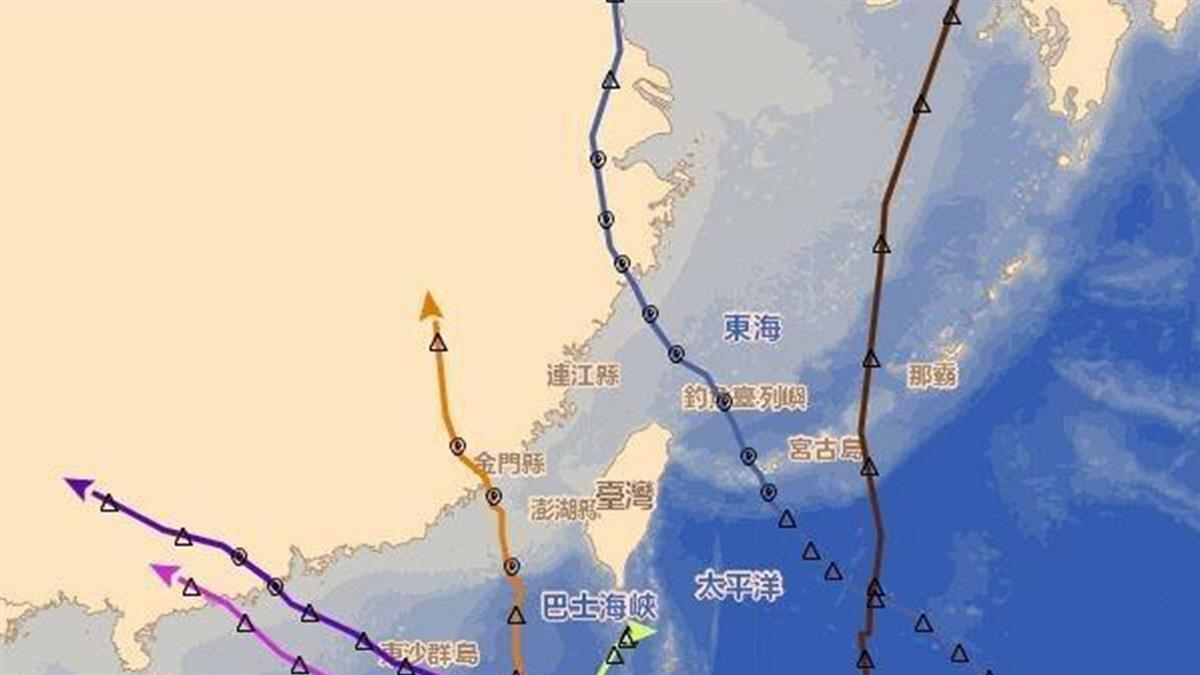 巧合?今年7颱都繞過台灣 鄭明典曝原因